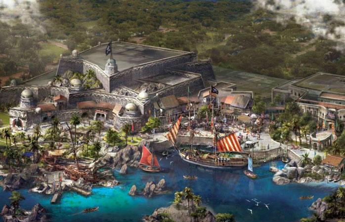 上海迪士尼宝藏湾