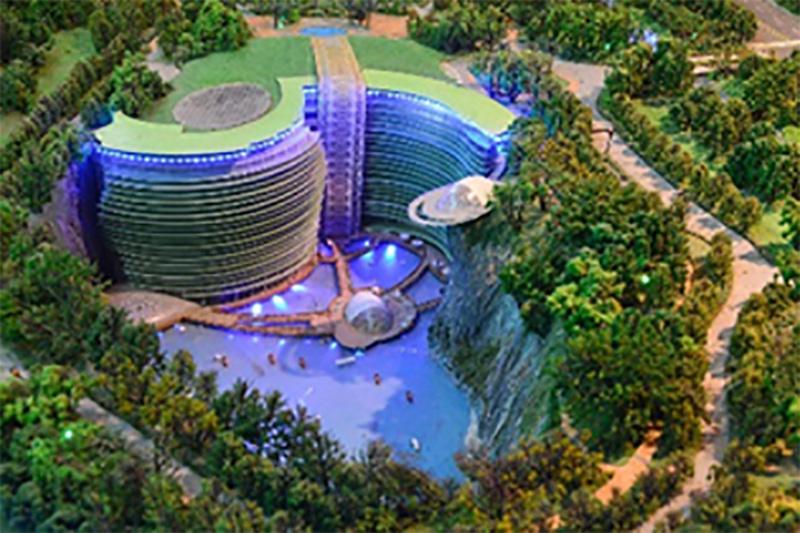 上海佘山世茂深坑洲际酒店