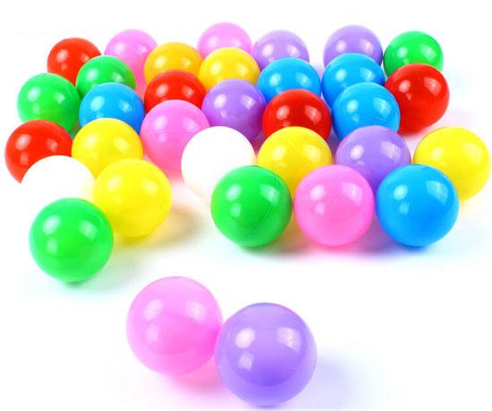 进口原色原料海洋球