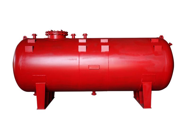 卧式碳碳衬塑储罐