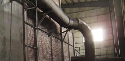 石膏板行业专用中温热风炉