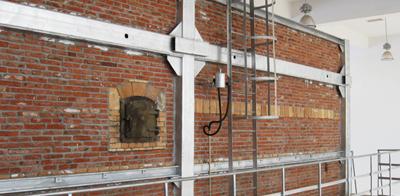 矿棉板行业专用低温热风炉