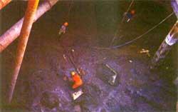 瞬凝水泥正在基坑围护中运用