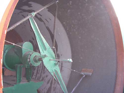 PJJ280噴漿機現場噴涂圖片