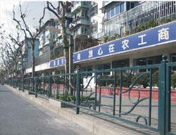 城市机非隔离护栏