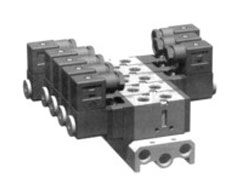 VFB3000. 5000系列电磁阀用汇流板
