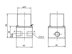Q22XD-4二位二通电磁阀