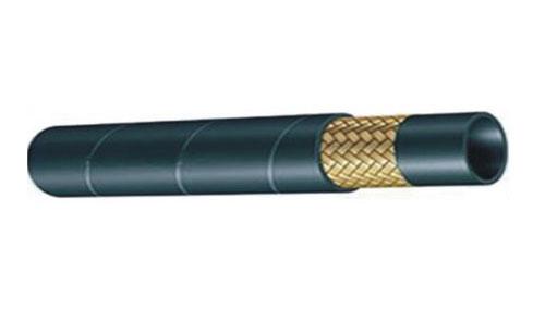 一层钢丝编织橡胶管参数