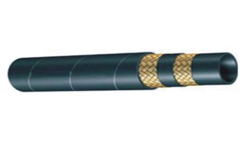 二层钢丝编织橡胶管参数