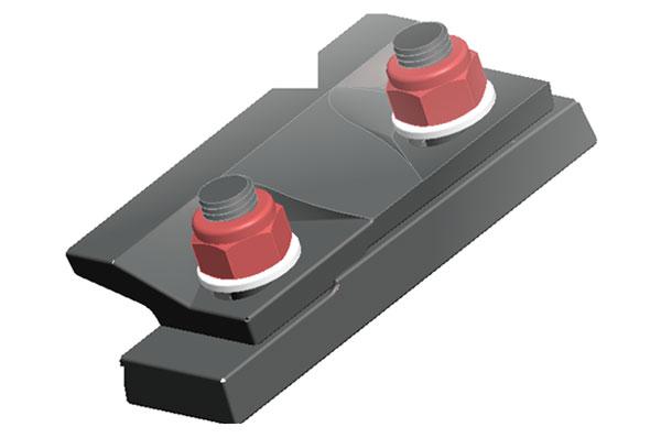 卸船机、斗轮机柔性轨道压板(Q/SNPF4-2009)