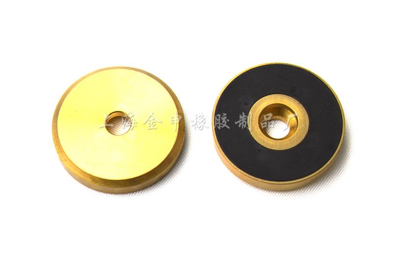 橡胶和金属粘合件