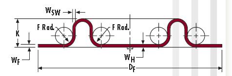 平衡(滚动)膜片