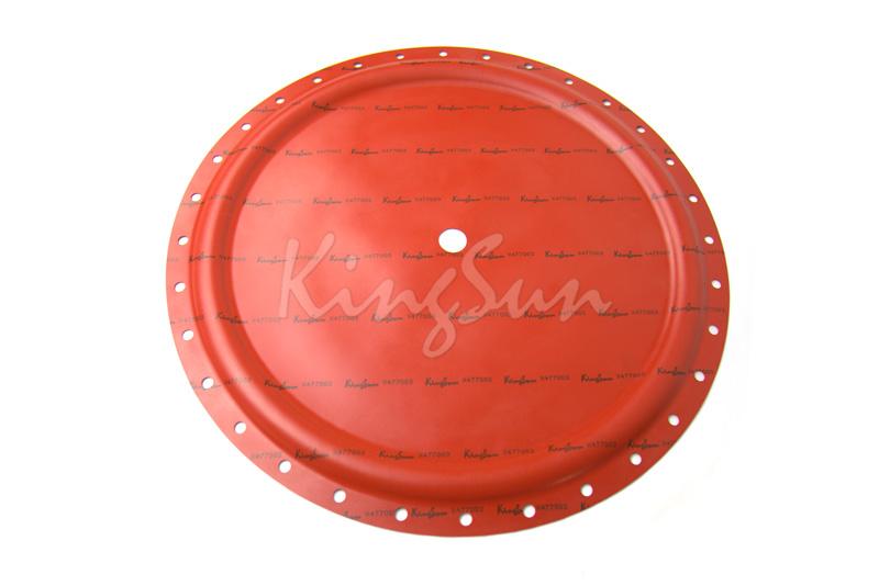 Corrugated diaphragm