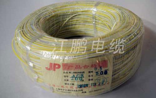 245IEC03(YG)硅橡膠編織電線