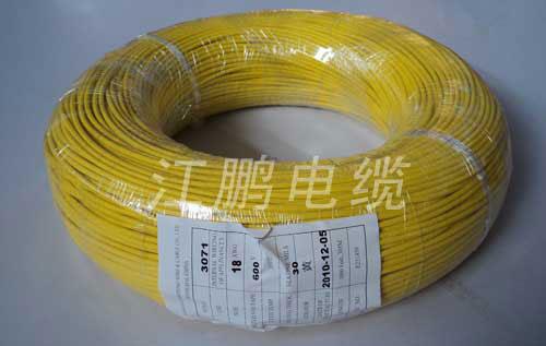 UL3069 硅橡膠編織電線