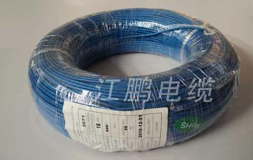 UL3071 硅橡膠編織電線