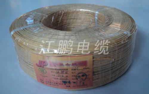 UL3074 硅橡膠編織電線