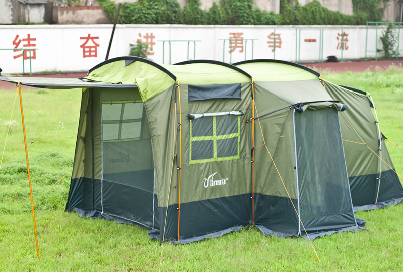 Authentic Comat Extra-large Car-tail Tent Outdoor Multi-person Camping Double-decker Tent Self-drivi