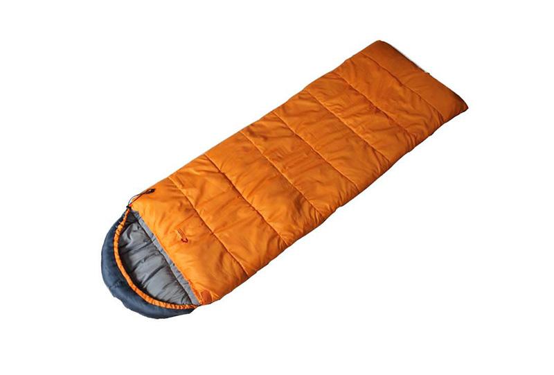正品珂玛特 特价户外信封式带帽三季棉睡袋 午休露营帐篷睡袋