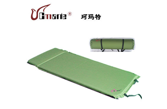 正品珂瑪特自動充氣墊單人可拼接5cm加厚氣墊防潮墊帳篷睡墊床墊