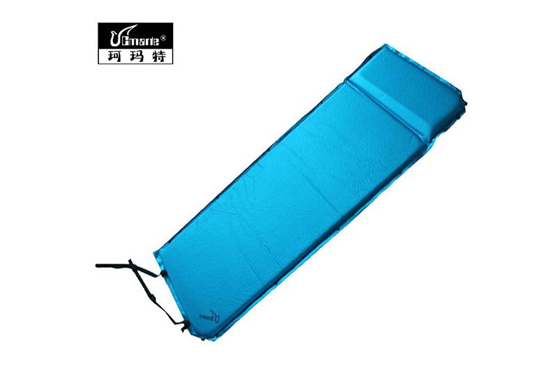 珂瑪特 自動充氣墊單人加厚戶外防潮墊睡墊 帳篷充氣墊3cm