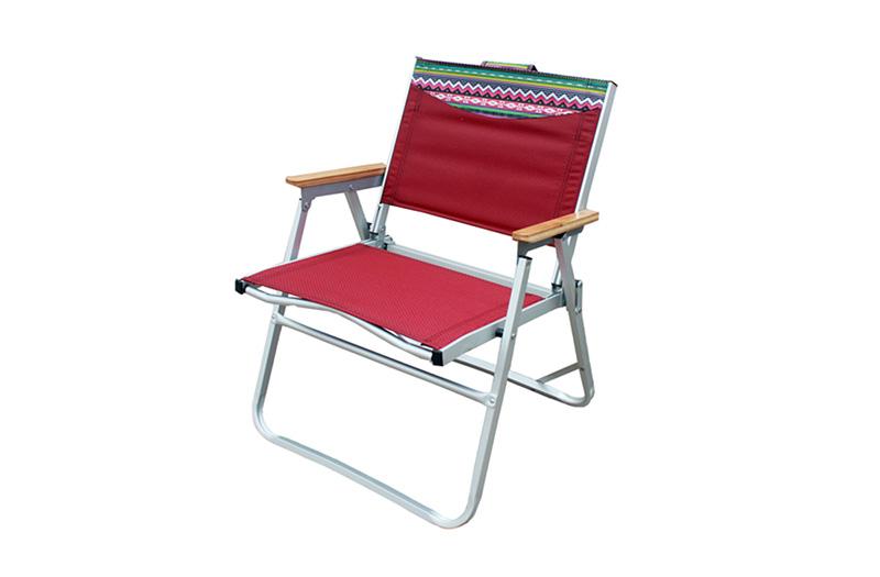 正品珂瑪特戶外鋁合金可折疊躺椅扶手椅釣魚沙灘休閑椅 桌椅套裝
