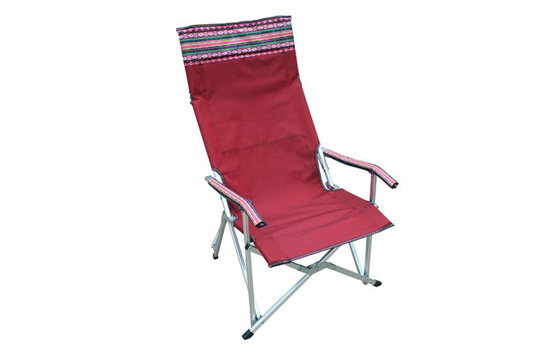 戶外鋁合金可折疊躺椅休閑椅自駕游扶手靠背電腦椅折疊桌椅套裝