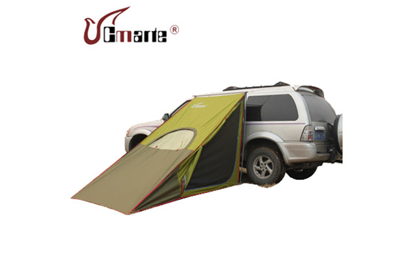 Outdoor Vehicle-side Field Rainstorm-proof Skew-braced Couple Tourist Car Roof Tent Single-storey Ou