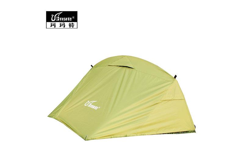 正品珂瑪特 戶外雙層單人自動免搭建 便攜野外露營郊游登山帳篷