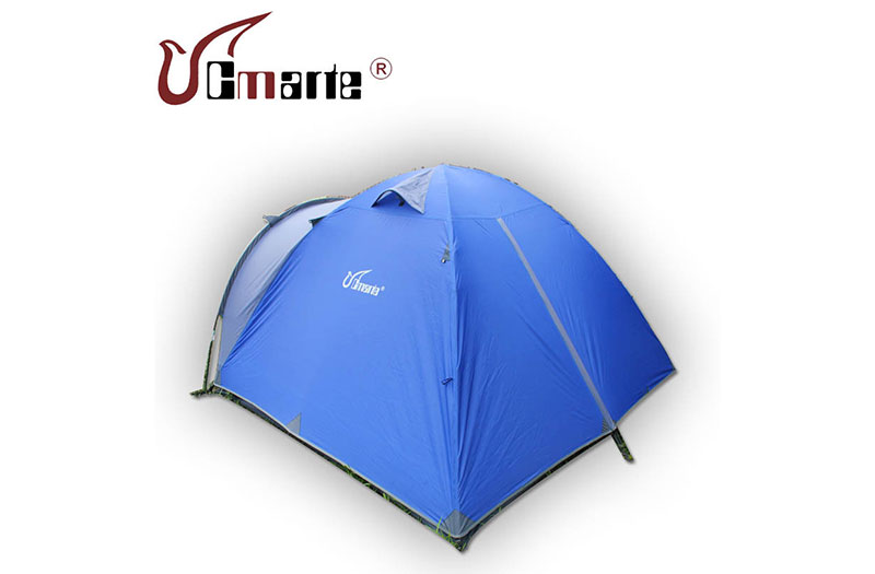 珂瑪特正品 戶外家庭野營帳篷 休閑帳篷 一室一廳 多人雙層帳篷