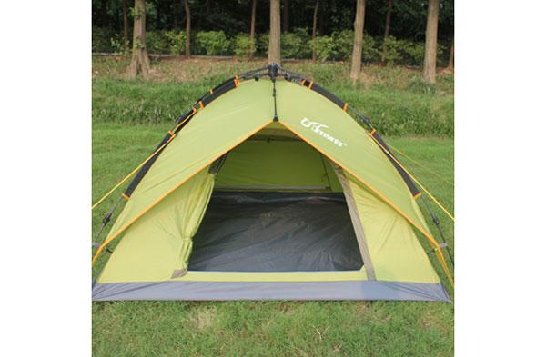 珂瑪特戶外自動免搭建 速開3人雙人雙層露營家庭郊游帳篷 包郵
