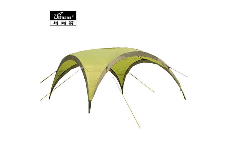 正品珂瑪特 特價戶外大型擋風帳篷 單面遮陽帳篷 超大天幕遮陽棚