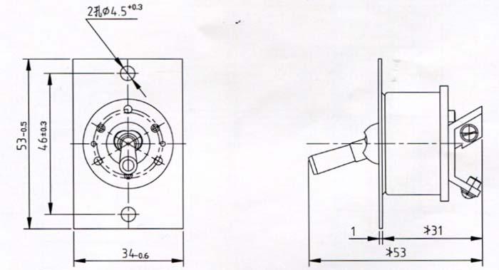 AZK-3转换开关