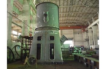 立磨选粉机-上下壳体组装