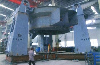 立磨选粉机-立磨底座
