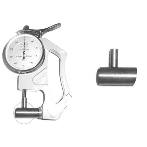 10mm横测杆 上测头为6mm平面测头 手式管壁手机伟德
