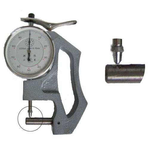 8mm 横测杆 上测头为百分表测头 手式管壁测厚仪