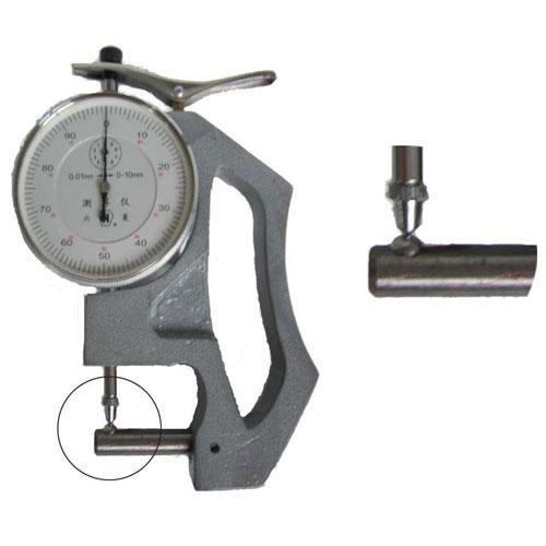 8mm横测杆镶4mm钢球 上测头3mm钢球 手式管壁测厚仪