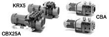 1993年主力型產品KRS、CBS更型機型產品推出 KRX、CBX