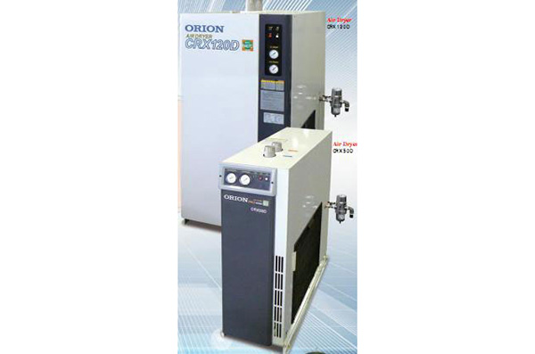 中·小型冷凍式空氣幹燥機(標準入氣型)