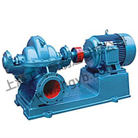 S/SA/SH Double Entry Axially Split Volute Casing Centrifugal Pump