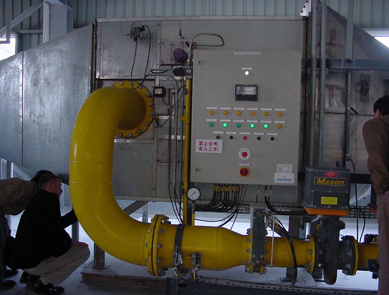 煤改气+余热回收