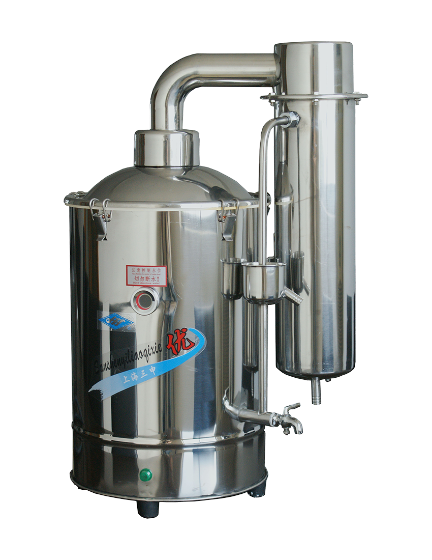不銹鋼電熱重蒸餾水器