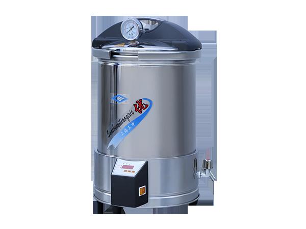 YX280手提式不锈钢压力蒸汽灭菌器(定时数控)