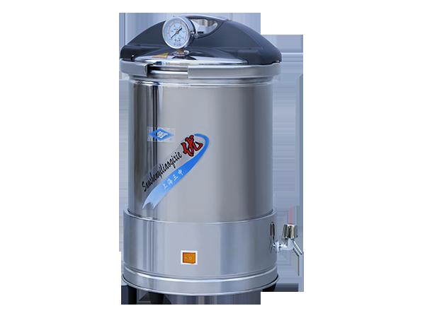 YX280手提式不锈钢压力蒸汽灭菌器(防干烧)