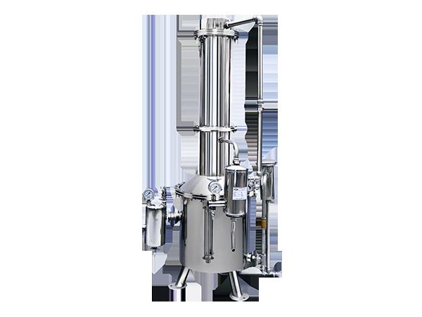 TZ系列不锈钢塔式蒸汽重蒸馏水器