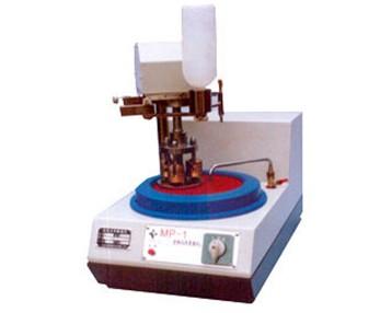 MP-1型单盘双速金相