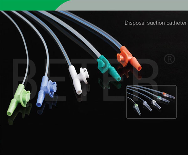 Disposal suction catheter