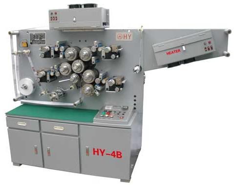 HY-4B型四色正反面高速轮转布质商标印刷机