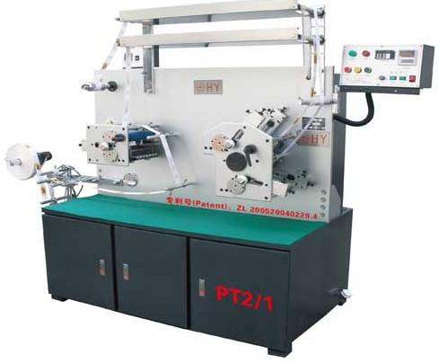 PT 2/1 两正一反六色双面布标柔性版印刷机